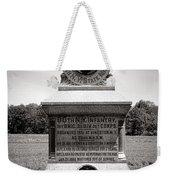 Gettysburg National Park 80th New York Infantry Militia Monument Weekender Tote Bag
