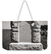 Gettysburg National Park Third West Virginia Cavalry Monument Weekender Tote Bag