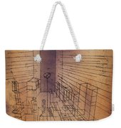 Ghost Chamber With The Tall Door New Version Weekender Tote Bag