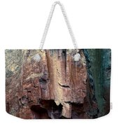 Ghost Cliff Abstract Weekender Tote Bag
