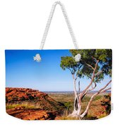 Ghost Gum On Kings Canyon - Northern Territory, Australia Weekender Tote Bag