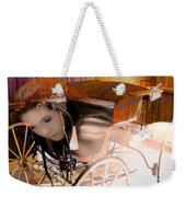 Ghost In The Carriage House Weekender Tote Bag