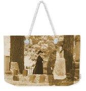 Ghost In The Graveyard Weekender Tote Bag