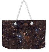 Ghost Nebula Weekender Tote Bag