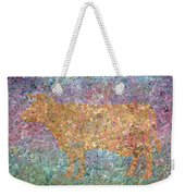 Ghost Of A Cow Weekender Tote Bag by James W Johnson