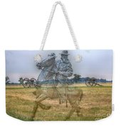 Ghost Of Gettysburg Weekender Tote Bag by Randy Steele