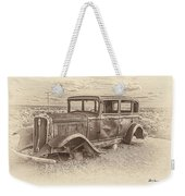 Ghost Of The Mother Road Weekender Tote Bag