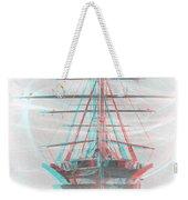 Ghost Ship - Use Red-cyan 3d Glasses Weekender Tote Bag