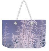 Ghost Trees Yellowstone National Park Weekender Tote Bag
