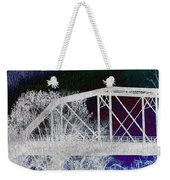 Ghostly Bridge Weekender Tote Bag