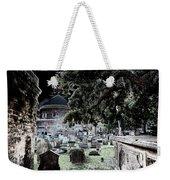 Ghostly Cemetary Weekender Tote Bag