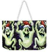 Ghostly Christmas Trio Weekender Tote Bag