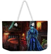 Ghostly Gentleman Visits A Friend Weekender Tote Bag