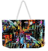 Ghostly Shopping Center Weekender Tote Bag