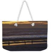 Ghostly Sunset Walk Weekender Tote Bag