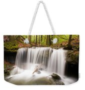 Ghostly Waterfall Weekender Tote Bag