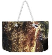 Giant Cuttlefish Camouflage Weekender Tote Bag