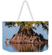 Giant Cypress Tree In Reelfoot Lake Weekender Tote Bag
