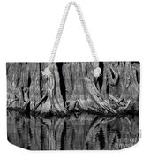 Giant Cypress Tree Trunk And Reflection 2 Weekender Tote Bag