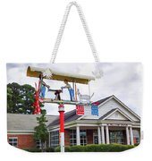 Giant Folk-art Weathervane 1 Weekender Tote Bag