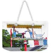 Giant Folk-art Weathervane 2 Weekender Tote Bag