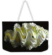 Giant Frilled Clam Seashell Tridacna Squamosa Weekender Tote Bag
