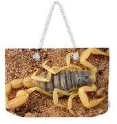 Giant Hairy Scorpion Weekender Tote Bag