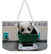 Giant Panda Ailuropoda Melanoleuca Baby Weekender Tote Bag