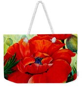 Giant Poppies 3 Weekender Tote Bag