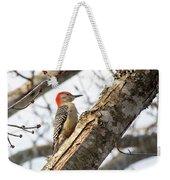 Giant Red Headed Woodpecker  Weekender Tote Bag