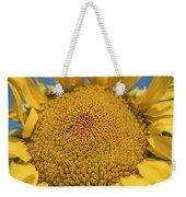 Giant Sunflower Weekender Tote Bag