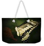 Giant Swallowtail 2 Weekender Tote Bag