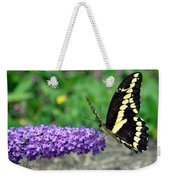 Giant Swallowtail Three Weekender Tote Bag