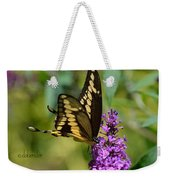 Giant Swallowtail Two Weekender Tote Bag