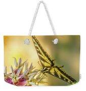Giant Swallowtail With Yosemite Showy Milkweed Weekender Tote Bag