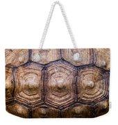Giant Tortoise Carapace Weekender Tote Bag