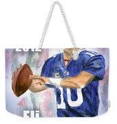Giants Win Weekender Tote Bag