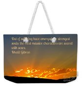 Gibran On The Character Of The Soul Weekender Tote Bag