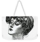 Gibson Girl 1902 Weekender Tote Bag