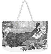 Gibson: Reader, 1900 Weekender Tote Bag