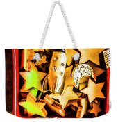 Gift Boxes And Astronomy Toys Weekender Tote Bag