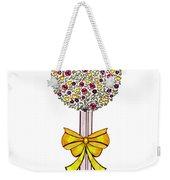 Gift Of Happiness Weekender Tote Bag