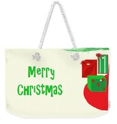 Gifts Under The Tree Weekender Tote Bag