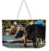 Gigantic Ox Weekender Tote Bag