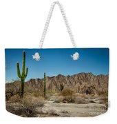 Gila Mountains And Sonoran Desert Weekender Tote Bag