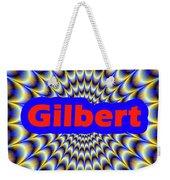Gilbert Weekender Tote Bag