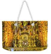 Gilded Chapel Weekender Tote Bag