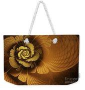 Gilded Flower Weekender Tote Bag