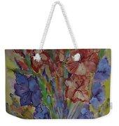 Gilded Flowers Weekender Tote Bag