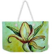 Gilded Lily Weekender Tote Bag
